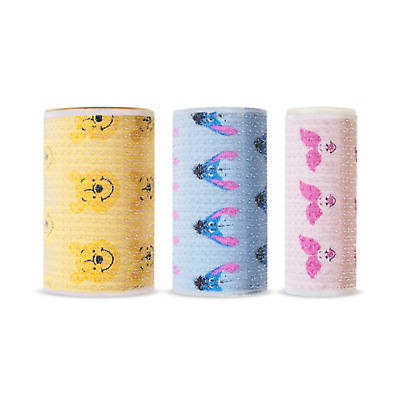 *Etude House* 2019 Happy with Piglet Hair Roll Large&Medium&Small SET