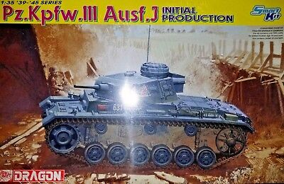 Dragon 6463: Pz.Kpfw.III Ausf.J Initial Production 1/35th Scale