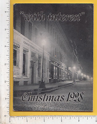 9914 With Interest mag 1928 VT Peoples National Bank of Brattleboro H. M. Wood