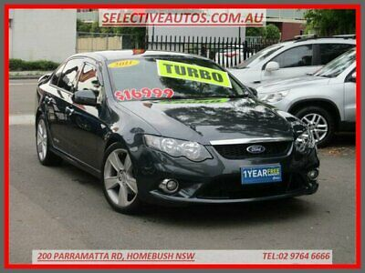2011 Ford Falcon FG Upgrade XR6T Grey Automatic 6sp A Sedan