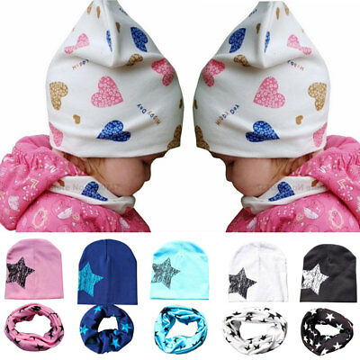 Australia Cute Baby Boys Girls Children Winter and summer  Hat and Scarf Set Hot