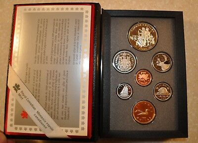 1990 Canadian Double Dollar Proof Set, Canada Uncirculated, Lot A108