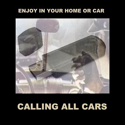 Calling All Cars. Enjoy All 301 Old-Time Radio Police Shows In Your Car Or Home!