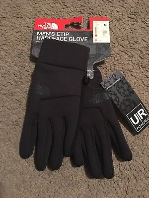 North Face Men's Etip Touchscreen Compatible Gloves Sz M New