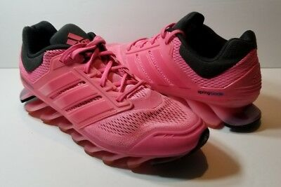 sneakers for cheap e50b5 7383f ADIDAS SPRINGBLADE RAZOR Pink Running Women's Shoes - Size 10