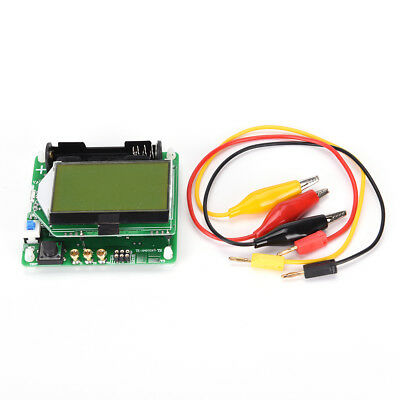 3.7V of inductor-capacitor ESR meter DIY MG328 multifunction transistor tester.