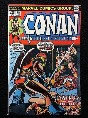 CONAN THE BARBARIAN #23 1st RED SONJA APPEARANCE!