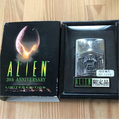 ZIPPO Limited Edition ALIEN2 20th Anniversary Lighter No.0070 From Japan