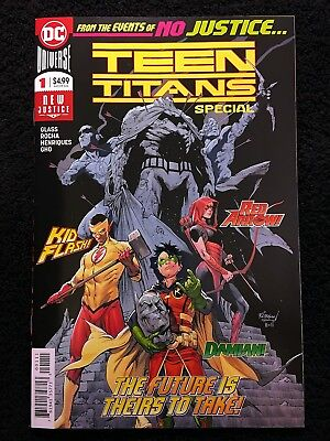 TEEN TITANS SPECIAL #1 1st CAMEO APPEARANCE OF CRUSH DAUGHTER OF LOBO!