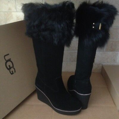 66f08a0e6d6 NEW UGG BOOTS VALBERG Black Women's Size 10 Fits Size 9 - $114.99 ...