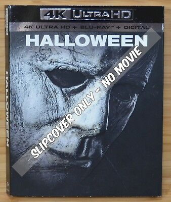 HALLOWEEN (2018) 4K UHD Blu-ray Slipcover Dust Cover (NO MOVIE DISC)