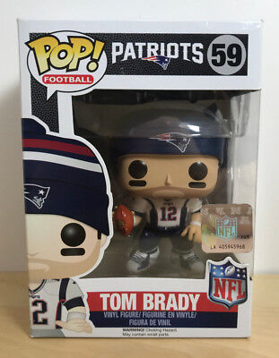Funko Pop! #59 NFL Wave 4 - New England Patriots - Tom Brady Away Jersey