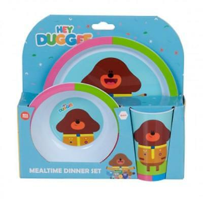 Hey Duggee 3-pce Baby Mealtime Dinner Set