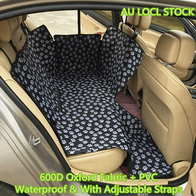 Pet Puppy Dog Cover Protector Mat Cradle Travel Blanket Car Back Rear Seat