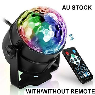 Remote/Voice Activated Flash Effect DJ Light LED Stage Laser Disco Party Lamp AU