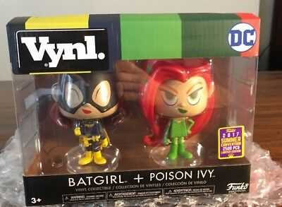 2017 Sdcc Exclusive Funko Vynl Dc Batgirl Poison Ivy Limited Edition 2500 Pcs