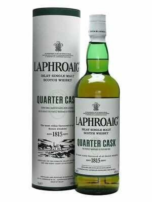 Laphroaig Quarter Cask Single Malt Scotch Whisky 700ml (Boxed)