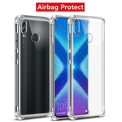 For Huawei Nova 5T P20 P30 Pro Mate 20 Clear Shockproof Soft Silicone Cover Case