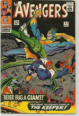 AVENGERS #31    Beautiful Early Silver Age  Nice Book!