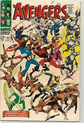 AVENGERS #44    Beautiful Early Silver Age  NICE!