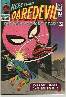 DARE DEVIL #17    Beautiful Early Silver Age SPIDER-MAN Cover Nice!!!