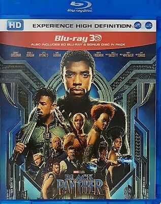 Black Panther 3D Blu-ray Region Free Best Deal....