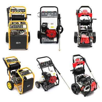 4 Various Style Petrol Power Pressure Jet Washer 6.5HP 13HP Engine with Gun Hose