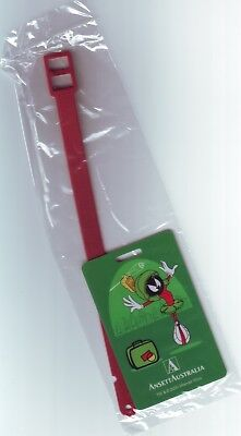 ANSETT AUSTRALIA MARVIN THE MARTIAN LUGGAGE TAG – Mint in original plastic cover