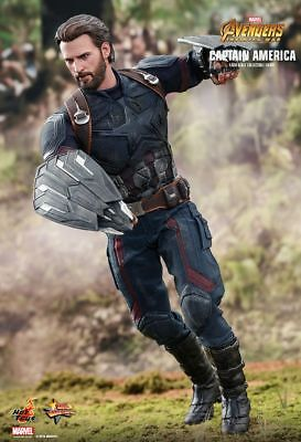 Hot Toys 1/6 Marvel Avengers: Infinity War MMS480 Captain America Action Figure