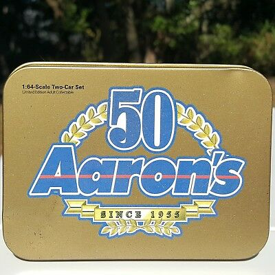 Action 1:64-Scale Two-Car Set Aaron's 50 Limited Edition Adult Collectible Rare