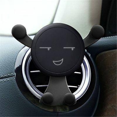 Emoji Gravity Car Phone Holder Air Vent Mount Stand for iPhone Samsung Huawei
