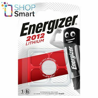 Energizer Cr2012 Lithium Battery 3V Coin Cell Dl2012 Exp 2029 New