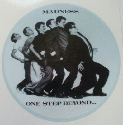 "Madness One Step Beyond 2 Tone Mod Scooter  Vinyl Sticker 100Mm  4"" ,quality,.."