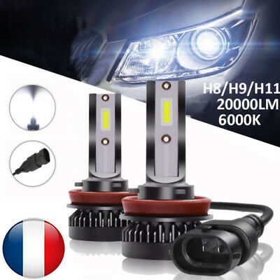 110W 20000LM H8 H9 H11 CREE LED Voiture Lampe Kit Phare Blanc Feux Xenon Ampoule