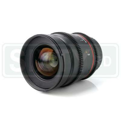 Genuino Samyang 24mm T1.5 VDSLRII Cine Lens for Canon EF Mount