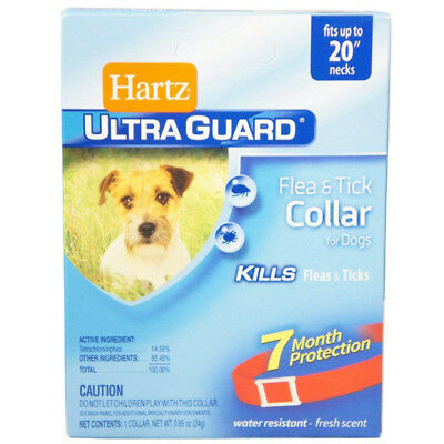 HARTZ - Ultra Guard Flea & Tick Collar for Dogs Red Water Resistant - 23 Inch