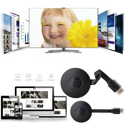 1080P HD Chromecast 2nd Generation HDMI Media Video Digital Streamer Dongle TV