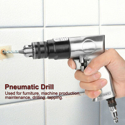 High-speed Pneumatic Drill Reversible Rotation Air Drill Tool for Hole Drilling