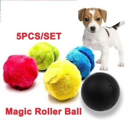 Magic Roller Play Toy Puppy Roller Ball Magic Ball Pet Dog Cat Electric Toy USA
