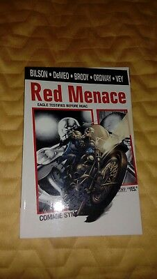 Graphic novel: Red Menace