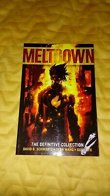 Graphic novel: Meltdown: The Definitive Collection.