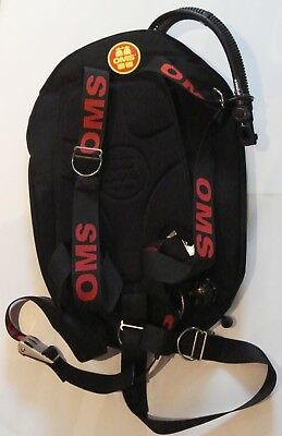 TAUCHFIEBER OMS Mono Wing 27lbs One Performance inkl. Edelstahl Backplate DIR