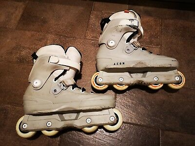 Usd Aeon 72 Aggressive Inline Skates - Grey UK 8-9