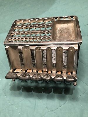 Staats Antique Coin Counter Changer And Tray. Circa 1890