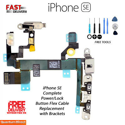 NEW iPhone SE Power Button and Audio Control Flex Cable Replacement with Tools