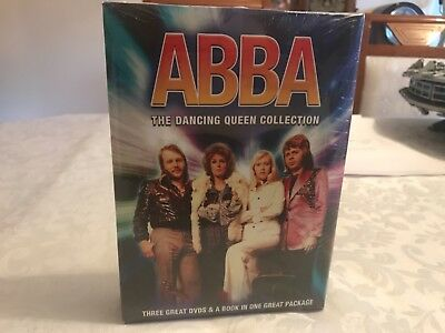 Abba The Dancing Queen Three Dvds And A Book Boxset New Sealed Rare