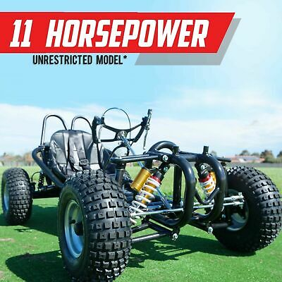 HAR270XX ✶ 270cc Off road Go kart Power boosted 11HP 5400RPM Dune buggy XXL