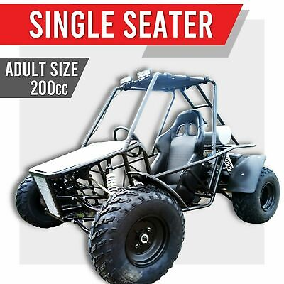 200GKS-R 200cc GY6 ✸ FULL CAGED Off road dune buggy Automatic ATV Go kart Single