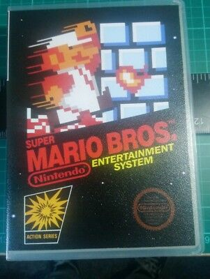 Nintendo Nes Universal Game Case and Cover Super Mario  All cover arts