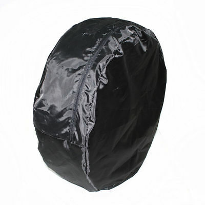 Spare Tyre Tire Cover Wheel Bag Storage Protection Black For Nissan Subaru Alfa